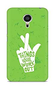 AMEZ things will work out Back Cover For Meizu MX5