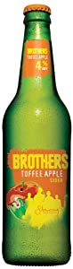 Brothers Toffee Apple Cider 500ml Bottle (Case of 12)