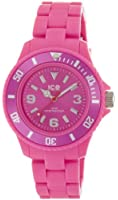 Ice-Watch Women's Quartz Watch with Pink Dial Analogue Display and Pink Plastic or PU Bracelet SD.PK.S.P.12