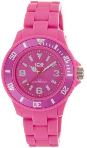 Icewatch Kids' Icewatch-Sd-Pk-S-P-12 Solid Pink Plastic Watch