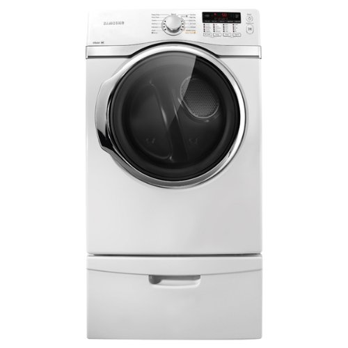 Samsung DV393ETPA 7.4 Cu. Ft. Electric Front Load Dryer with Steam Dry and 13 Drying Cycles, Neat White