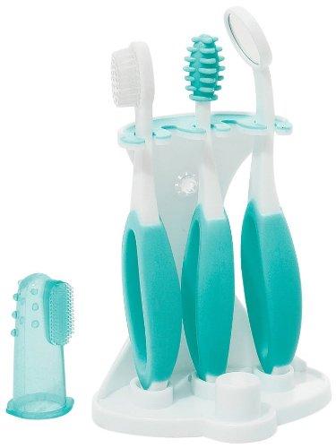 Summer Infant Oral Care Kit - Teal/White - 5 Piece Set - 1
