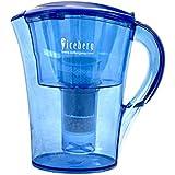 Carafe filtrante eau triple action Alcaline Longue durée IONWATER - ICEP-102 icebergPharma®