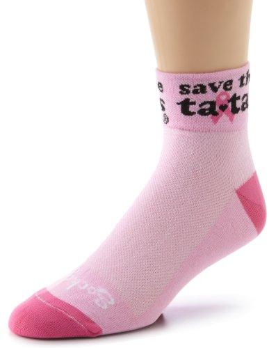 SockGuy Men's Save The Tatas Socks