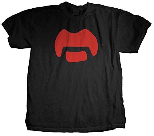 Frank Zappa - Mustache T-Shirt Size L (Mustache Merchandise compare prices)