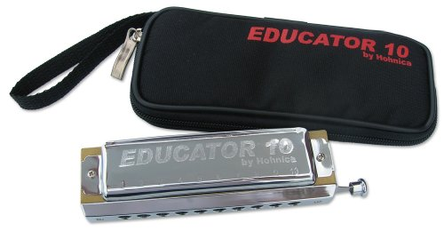 Hohnica Educator 10 Chromatic Harmonica, Key of C