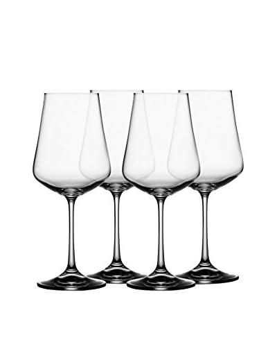 Jay Imports Set of 4 Sarah 8.5-Oz. Wine Glasses