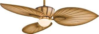 Minka-Aire F680-BG Minka Aire One Light Bahama Beige Ceiling Fan, Bronze