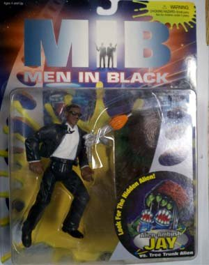 Alien-Ambush Jay Action Figure - Look For the Hidden Alien! - MIB:Men In Black the Movie