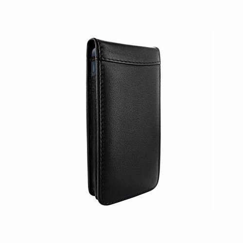 Great Price Apple iPhone 5 / 5S Piel Frama Black Magnetic Leather Cover