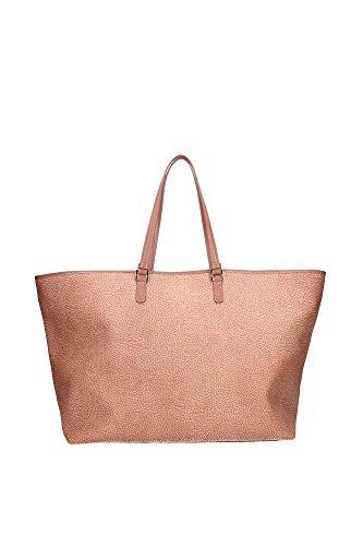 Borse Shopping Borbonese Donna Poliestere Rosa 903601320312 Rosa 20x32x39 cm