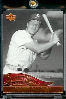 2005 Upper Deck Sweet Spot Classic Baseball Card #72 Richie Ashburn Philadelphia Phillies - Mint Condition - In Protective Display Case ! - Buy 2005 Upper Deck Sweet Spot Classic Baseball Card #72 Richie Ashburn Philadelphia Phillies - Mint Condition - In Protective Display Case ! - Purchase 2005 Upper Deck Sweet Spot Classic Baseball Card #72 Richie Ashburn Philadelphia Phillies - Mint Condition - In Protective Display Case ! (Upper Deck, Toys & Games,Categories,Games,Card Games,Collectible Trading Card Games)