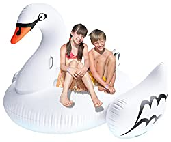 Greenco Giant Inflatable Swan Float 75