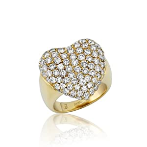 Holiday Gift 2.65 Ct D-E/VS2-SI Setting Round Diamond Heart Ring 14k Yellow Gold