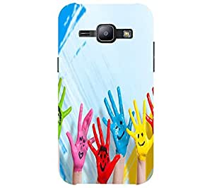 Perfect print back cover for Samsung Galaxy J1