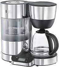 Russell Hobbs 20770-56 Clarity - Cafetera de goteo, jarra de cristal, capacidad de 1,25 l, sistema de filtración de agua BRITA