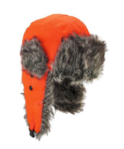 Faux Fur Hazard Trooper Ski Snow Hunting SOS
