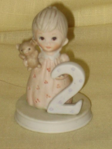 "1982 Lefton China - The Christopher Collection Birthday "" 2 "" Figurine"