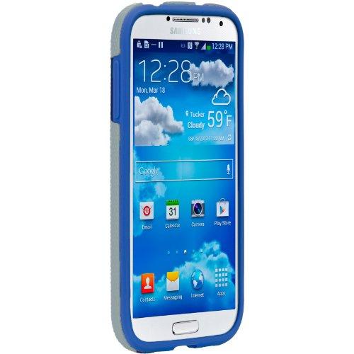 Case-Mate 日本正規品 docomo Galaxy S4 SC-04E Hybrid Tough Case, Titanium/Olympian Blue ハイブリッド タフ ケース CM027161