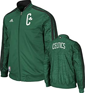 NBA Boston Celtics On-Court Warm-Up Jacket Home Weekday by adidas