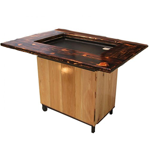 Backyard Hibachi Flattop Propane Gas Grill - Torched Cypress (Cypress Grill compare prices)