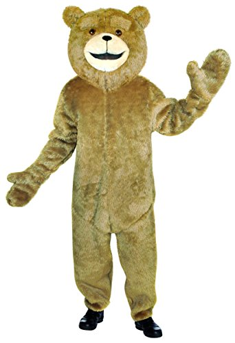 Rasta Imposta Ted Jumpsuit, Tan, Standard (Teddy Bear Costumes compare prices)