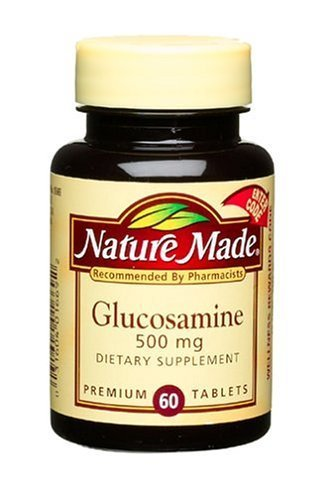 Nature Made Glucosamine 500Mg, 60 Tablets (Pack Of 3)