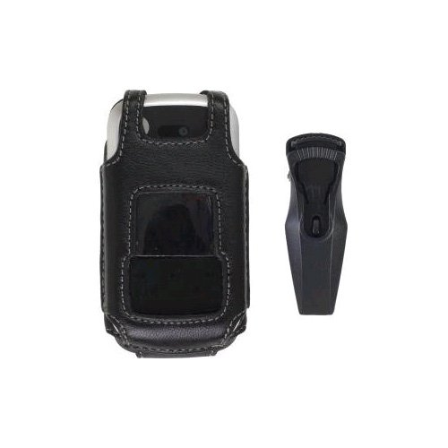 Fitted Leather Case  Belt Clip for Motorola Entice