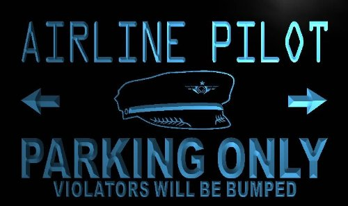 enseigne-lumineuse-n099-b-airline-pilot-parking-only-neon-light-sign