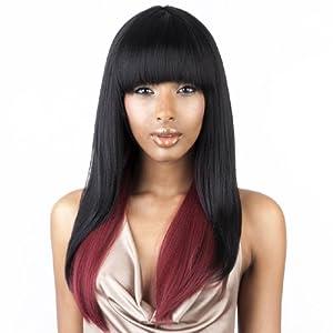 isis brown sugar human blended full wig bs103 1b off black by isis