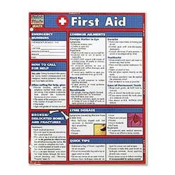 First Aid Quick Study Guide Picture