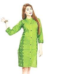 Kaya Women's Cotton Kurti (006KUCO011_Multi-Coloured_X-Large)