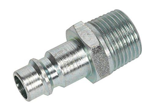 Sealey AC83 Screwed Adaptor Male, 3/8-inch BSPT, Set of 2
