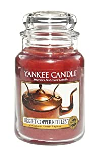 Bright Copper Kettles - 22 Oz Large Jar Yankee Candle