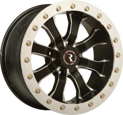 Raceline RT-Mamba Beadlock 15 Black Wheel / Rim 4x115 with a 0mm Offset and a Hub Bore. Partnumber A7157015-00 (15 Inch Beadlock Rims compare prices)