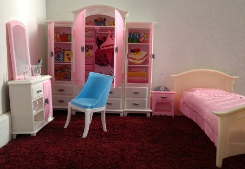 Barbie Größe Puppenhaus furniture- Bed Room