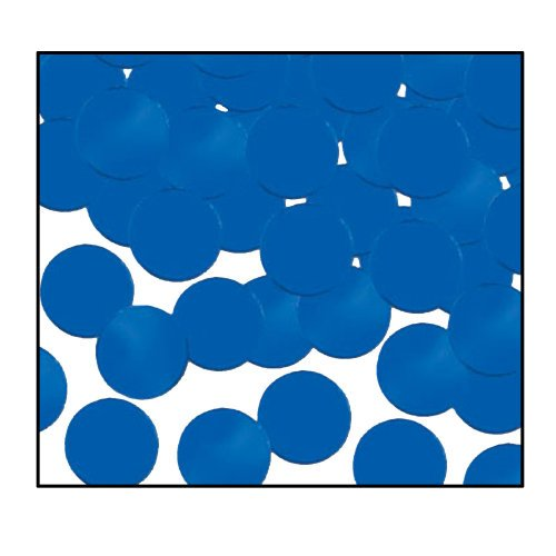 Fanci-Fetti Dots (blue) Party Accessory  (1 count) (1 Oz/Pkg)