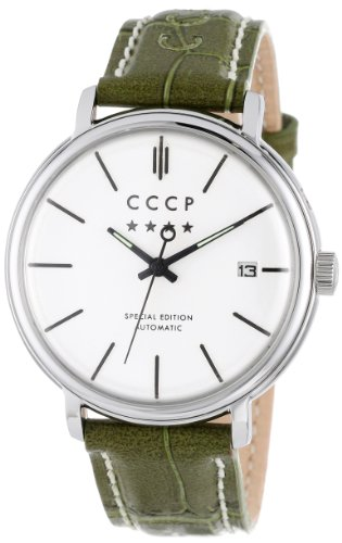 Cccp Men'S Cp-7019-04 Heritage Analog Display Automatic Self Wind Grey Watch