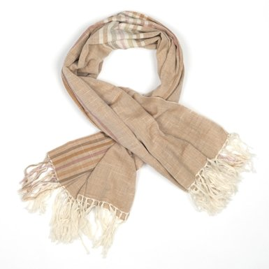 Square Cotton Weave Scarf (Assorted)||RF10F||RNWIT