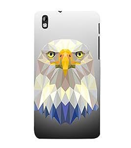 3D Vector Owl 3D Hard Polycarbonate Designer Back Case Cover for HTC Desire 816::HTC Desire 816 G::HTC Desire 816D::HTC Desire 816G (Octa Core)