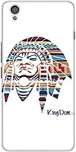 Snoogg Red Indian Designer Protective Back Case Cover For One Plus X / Oneplus X