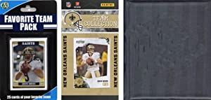 NFL New Orleans Saints Licensed 2010 Score Team Set and Favorite Player Trading Card... by C&I Collectables