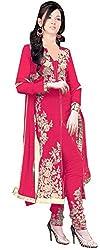 Bhakti Creation Women Chifon Dress Material