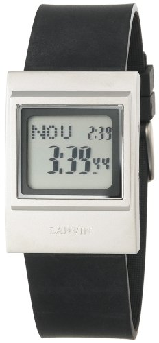 Lanvin Men's Straight Digital Watch #JM4773 - Buy Lanvin Men's Straight Digital Watch #JM4773 - Purchase Lanvin Men's Straight Digital Watch #JM4773 (Lanvin, Jewelry, Categories, Watches, Men's Watches, Sport Watches, Rubber Banded)