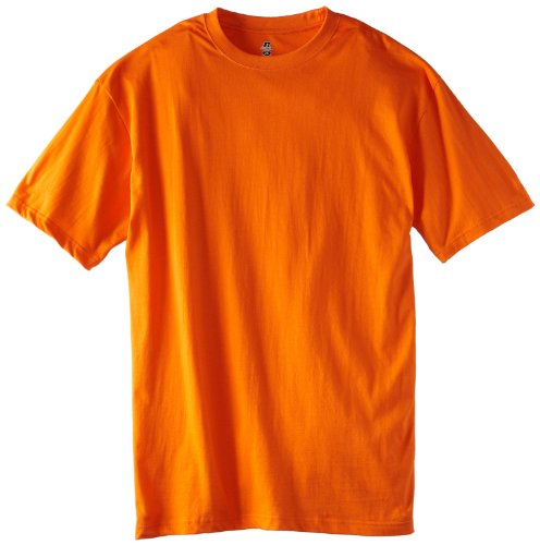 Russell athletic men s big tall basic t shirt burnt for Big and tall athletic shirts