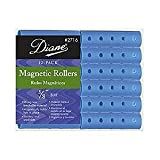 Diane Magnetic Rollers, Blue, 5/8, 12/bag