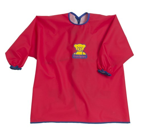 BABYBJÖRN Eat & Play Smock - Red
