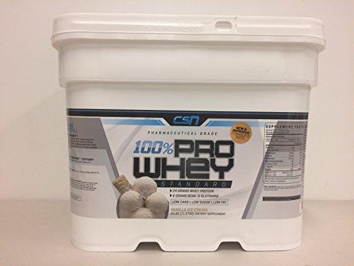 CSN 25lb Whey Protein (Vanilla Ice Cream) (Csn Protein Vanilla Ice Cream compare prices)