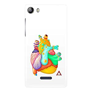a AND b Designer Printed Mobile Back Cover / Back Case For Micromax Canvas 5 - E481 (MIC_E481_3D_3596)