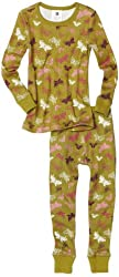 Tea Collection Little Girls'  Tossed Butterfly Pajama